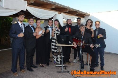 Cantante musicista per musica dal vivo per matrimoni e tutti i tipi di  eventi