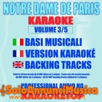 Tutte le 54 basi musicali del musical NOTRE DAME DE PARIS.