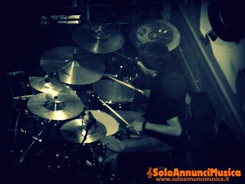 Batterista/Studio recorder/Insegnante