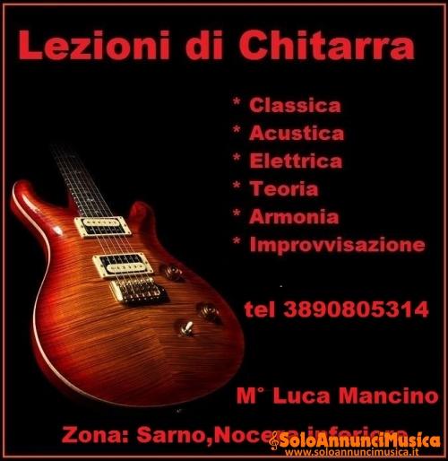 Corsi di Chitarra Classica,Acustica ed Elettrica