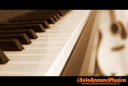 Lezioni pianoforte e chitarra