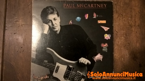 LP 33 GIRI PAUL MC CARTNEY