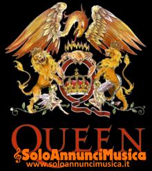 Cercasi membri Cover dei Queen