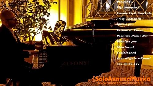 Pianista per Matrimoni - Eventi - Locali pianobar