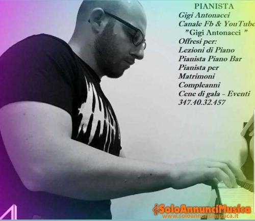 Pianista professionista per eventi