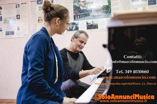 Rinomato musicista (Wikipedia referenze) per lezioni di pianoforte ed organo (Roma)