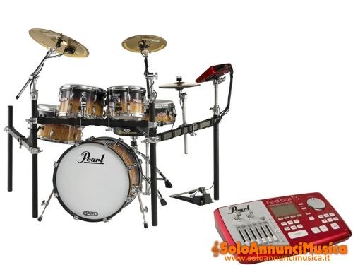Vendo batteria elettronica con fusti in legno Pearl EPRO Live in perfetto stato mai usata